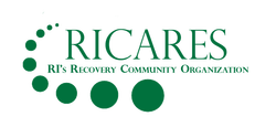 RICARES logo in box