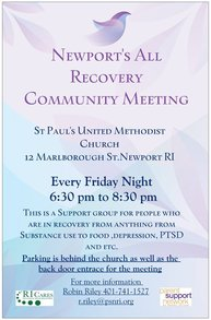 Newport Recovery Flyer